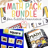 MATH ACTIVITIES FOR LITTLE LEARNERS | GROWING BUNDLE