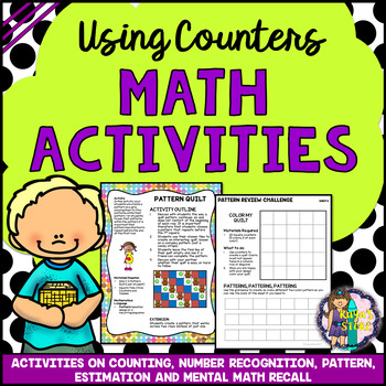 MATH ACTIVITIES: Using Counters for Pattern Classification and Number