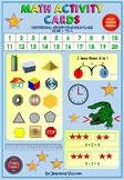MATH ACTIVITY CARDS - YEAR 1 - 3 by JEANETTE VUUREN