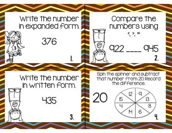 MATH AND ELA TASK CARDS: 2 -sets-of-SCOOT