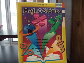 MATH AND STORIES  ISBN 0-673-36321-X