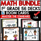 Boom Cards Distance Learning MATH ASSESSMENT 1.OA BUNDLE