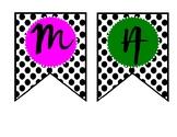 MATH BANNER--Polkadot and Bright Colors