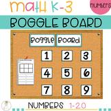 Math Boggle Board Display | Year Long