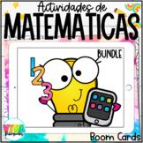 MATH BOOM CARDS BUNDLE (SPANISH)