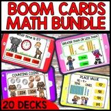 BOOM Cards™ Digital Math Games | Math Year Long Task Cards Bundle