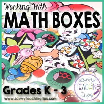 MATH BOXES - maniuplatives for teaching math concepts