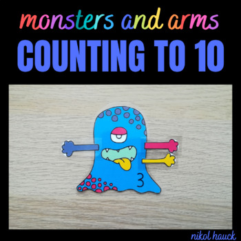 MATH BUSY BAGS: ARMS AND MONSTERS (COUNTING ACTIVITY 1-10)
