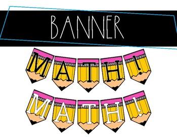 MATH! Banner