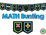 MATH Bunting (Bulletin Board Header)