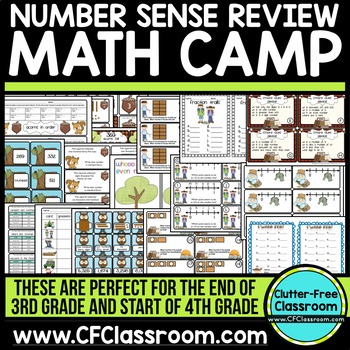 MATH CENTERS CAMPING THEME