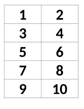 MATH CENTER - Matching addition number sentences with whole number