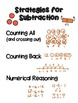 MATH CHARTS: Strategies for Addition / Strategies for Subtraction