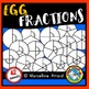 MATH CLIPART: EGG FRACTIONS CLIPART: FOOD FRACTIONS CLIPART