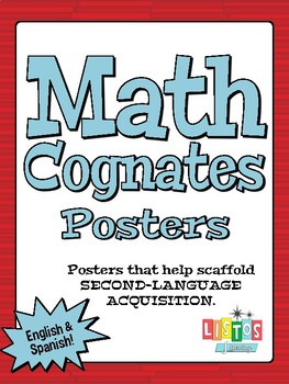 MATH COGNATES Poster FREEBIE!!