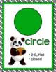 MATH CONCEPTS: Green & Black Color Scheme, Panda Theme, Classroom Decor