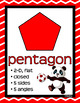 MATH CONCEPTS: Red & Black Color Scheme, Panda Theme, Classroom Decor