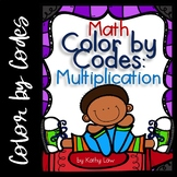 MATH Color by Codes: Multiplication