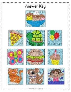 MATH Color by Codes: Subtraction