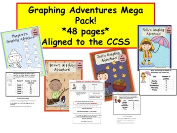 MATH Common Core - Graphing Adventures Mega Pack!