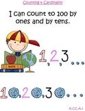 MATH Common Core I can statements Kindergarten