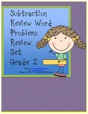 MATH Common Core - Subtraction Word Problems Review Sets 2-4