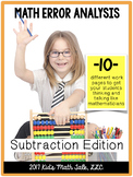 Math Error Analysis-Subtraction Edition