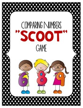 MATH Comparing Whole Numbers and Decimals SCOOT Game