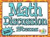 MATH DISCUSSION STEMS
