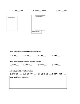 MATH EXPRESSIONS CHAPTER 1 ASSESSMENT