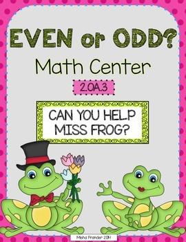 2.AO.3  *  2nd Grade Math Center