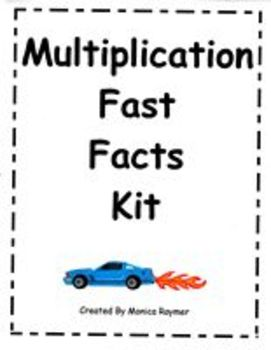 MATH FACT FAMILIES - Multiplication Fast Facts Kit for Learning Families