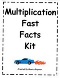 MATH FACT FAMILIES - Multiplication Fast Facts Kit for Lea