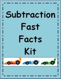MATH FACT FAMILIES - Subtraction Fast Facts Kit for Learni