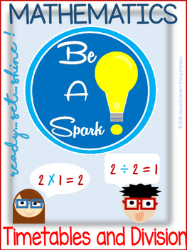 MATH FUN Timetable AND Division Practice|FLASHCARDS|CHARTS