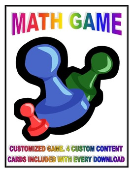 MATH GAME - DIVISION! MULTIPLICATION! FRACTION! PLACE VALUE! ++ ALL CONTENT AREA