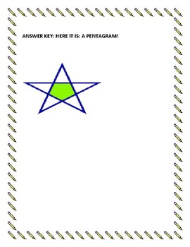 MATH/ GEOMETRY/ ART CHALLENGE! Have fun figuring out this shape, and drawing it!