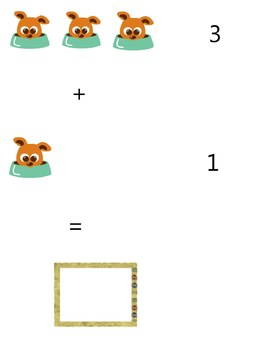MATH  GRADE  1 - COMMON  CORE - B1 - ADDITION  WITH  PICTURES