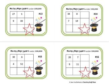 Gr 3 MATH BUNDLE | REVIEW MATH | Color | Monsters, Designs, Riddles, Puzzles |
