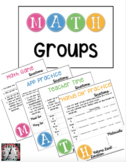 MATH Groups Templates