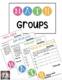 MATH Groups Templates