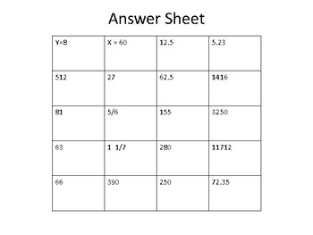 MATH HOMEWOERK CCSS.6 REVIEW WEEK 14