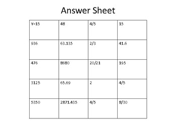 MATH HOMEWORK CCSS.6 REVIEW WEEK 18