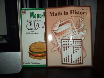 MATH IN HISTORY     MENU-MATH                 (set of 2)