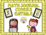 MATH JOURNAL COVERS-EDITABLE