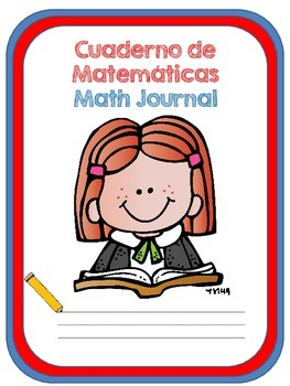 MATH JOURNAL COVERS FOR DUAL LANGUAGE