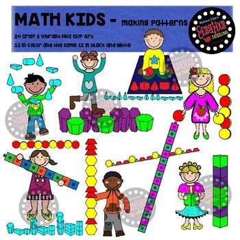 MATH KIDS - MAKING PATTERNS