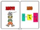 MATH Kindergarten CCSS Aligned Visual Vocabulary Word Wall Cards