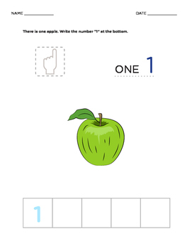 MATH - Learn How to Count 5 to 10