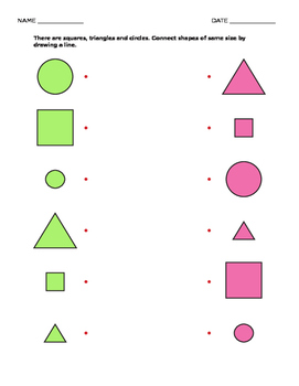 MATH - Learn Shapes and Transformations
